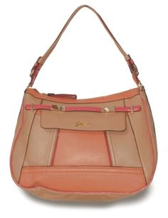 GUESS Chandelle Hobo Handbag Tan-Multi « Clothing Impulse Handbags Nz 8898c250686dd