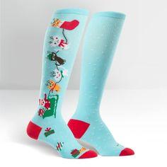 Jingle Cats Women's Knee High Sock