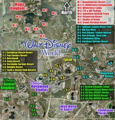 Walt Disney World Maps by Robo