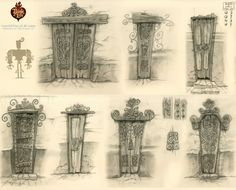 The Book of Life Concept Art by Jordan Lamarre-Wan 31 Concept Art Books, Concept Art World, Environment Concept Art, Environment Design, Landscape Illustration, Watercolor Illustration, Book Of Life, The Book, Background Drawing