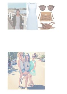 """""""Wedding dress day!!"""" by coco-james ❤ liked on Polyvore featuring Diane Von Furstenberg, Billabong, Zadig & Voltaire and Oliver Peoples"""