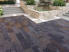 Interface Modern Carpet Tile In A Commercial Building Corridor Interior Design San Antonio