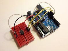 Arduino to program attiny