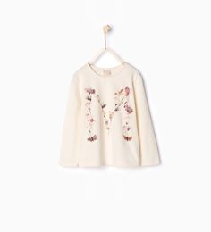 Butterfly print T - shirt - View all - T - shirts - Girl (4 - 14 years) - KIDS | ZARA United States