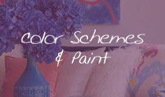 Color Schemes & Paint