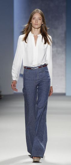 I don't usually wear jeans...but when I do, this is my favorite style and way!
