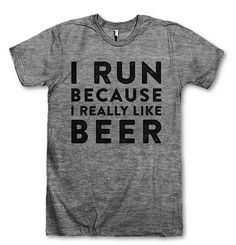 13 Funny T-Shirts That Know Exactly How You Feel About Running: Let's face it, sometimes running is the worst.