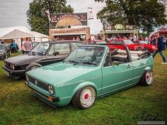 Mk1 cab sitting pretty  #volkswagen #volkswagengolf #mk1golf #golfmk1 #mk1cabby #burnallthemk1s #mk1 #bbs #bbsrs # https://t.co/7sYIzIq1fq