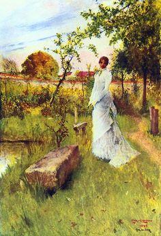 Carl Larsson - The Bride
