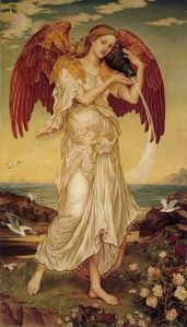 Eos.Evelyn-de-Morgan- 1895. Museo de Columbia