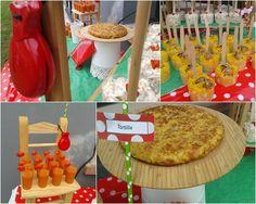 Catering para una fiesta flamenca. Flamenco Party, Spanish Party, Spanish Heritage, International Festival, Ideas Para Fiestas, Gazpacho, 9th Birthday, Paella, Catering