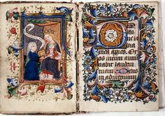 Liverpool Cathedral MS Radcliffe 'Hours of the Guardian Angel'- Joan Luyt presents the book to Queen Elizabeth Woodville. Medieval Books, Medieval Manuscript, Illuminated Manuscript, Medieval Times, Uk History, Women In History, Liverpool Cathedral, Edward Iv, Elizabeth Woodville