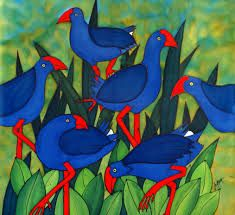 Billedresultat for pukeko painting School Projects, New Zealand, Doodles, Crafty, Quilts, Drawings, Art Ideas, Scrapbooking, Painting