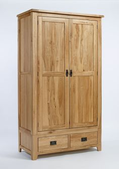 Westbury Oak Gents Wardrobe