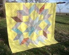 lots and lots of triangles... this will make an excellent gift for little Levi