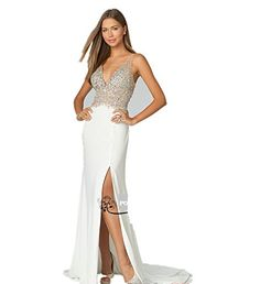 LondonProm TT6 beading Evening Dresses party full length prom gown ball dress robe (14, WHITE) LondonProm http://www.amazon.co.uk/dp/B00NO07BAU/ref=cm_sw_r_pi_dp_ggFgub131Q871