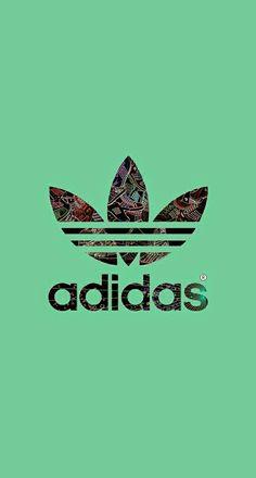 Adidas Logo Green Background iPhone 6 Plus HD Wallpaper / iPod ...