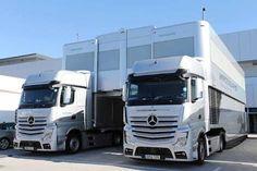 Trucks Mercedes-Benz || Motorhome Mercedes AMG Petronas || F1