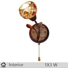 Aplica iluminat decorativ interior Klausen, gama Gio, model AP1 http://www.etbm.ro/aplica-iluminat-decorativ-interior-klausen-gama-gio-model-ap1