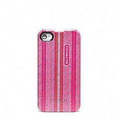 Ticking Stripe IPhone 4 Case - Coach - $38.00
