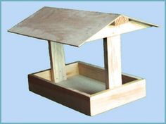 кормушка для птиц из дерева Wood Bird Feeder, Bird Feeder Plans, Bird Feeders, Platform Bird Feeder, Tea Table Design, Wren House, Bird Tables, Bird House Plans, Bird Houses Diy
