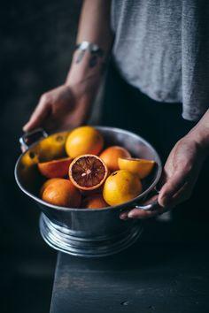 our food stories // blood oranges
