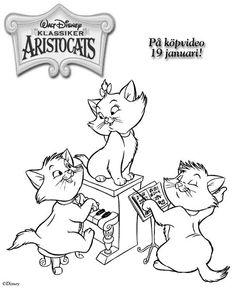 The Aristocats Coloring Pages On Book