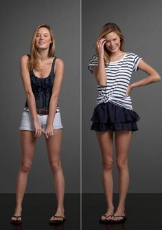 Abercrombie & Fitch Woman Classic Looks Summer 2011