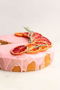 Blood Orange Cardamom Cake - The Sweet and Simple Kitchen
