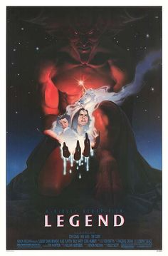 "'Legend' - another one of my top fave movies. Tim Curry as ""Darkness"" was absolutely amazing!"