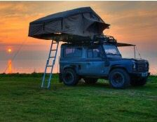 3 man roof tent.