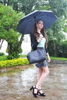 Look do dia na chuva   outfit of the day under the rain #ootd