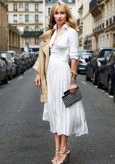 office-look-vestido-midi-branco