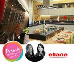 Ambiente com revestimentos Eliane fica em 1º lugar na mostra Morar Mais por Menos   Eliane