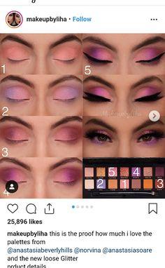 Eye Makeup Steps, Makeup Eye Looks, Eye Makeup Art, Smokey Eye Makeup, Love Makeup, Skin Makeup, Eyeshadow Makeup, Makeup Inspo, Makeup Tips