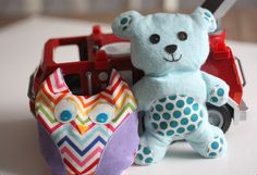 Owie Owl and BooBoo Bear tutorial and pattern -- ice packs for kids when they get hurt