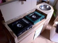how to build campervan kitchen - Google Search
