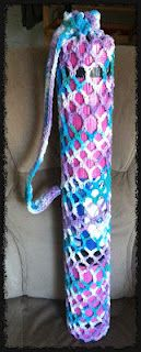 Yoga Mat - Yoga Mat Bag Crochet Pattern - Dearest Debi Patterns - Yoga Mat by DynActive- inch Thick Premium Non Slip Eco-Friendly with Carry Strap- TPE Material The Latest Technology in Yoga- High Density Memory Foam- Non Toxic, Latex Free, PVC Free Bag Crochet, Crochet Shell Stitch, Crochet Handbags, Crochet Home, Crochet Yarn, Free Crochet, Crochet 101, Ravelry Crochet, Crochet Purses
