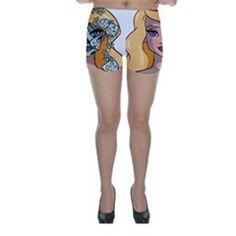 Odette Sugar Skinny Shorts by Ellador Skinny Shorts, Sugar