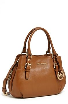 Michael Kors Bedford Medium Satchel Available At Nordstrom Mk Handbags