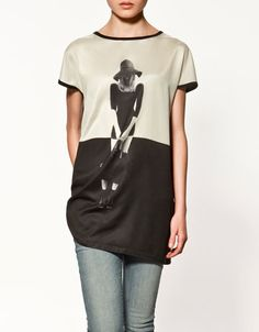 Photo T-Shirt - Zara