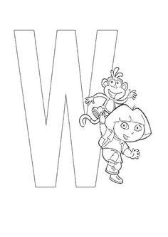 Exercices à imprimer pour les enfants. Alphabet 118