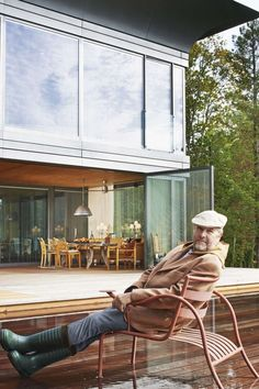 """Article source: STARCK WITH RIKO After years of intense technological development, Philippe Starck and the Slovenian company Riko debut a unique line of """"Prefabricated Accessible Technological Homes"""" – P. Combining Philippe Starck's ."""