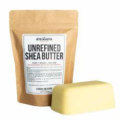 Raw Shea Butter - Pure Unrefined Shea Butter 16oz   Better Shea Butter