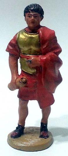 "Generale romano, I secolo a.C, numero 49 di ""Roma e i suoi nemici"" (2010 Vadis) #Miniatures #Figures #AncientRome #OspreyPublishing"