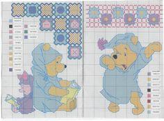 Schema punto croce Pooh21