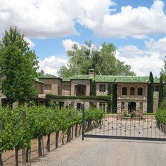 Albuquerque, NM - Casa Rodena Winery lets you step back in time enjoying New Mexico's heritage while sipping award-winning wine. The estate includes indoor and outdoor venues for weddings and events.