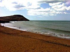 Hermosa playa en el Cabo de la Vela, Pilón de Azucar