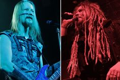 Petri Lindroos of Ensiferum and Jonne Järvelä of Korpiklaani original pinhttp://pinterest.com/pin/43417583886137481/