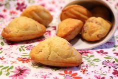 Madeleines aux lardons et parmesan